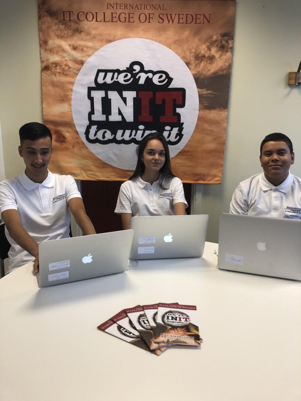 INIT på den Digitala Gymnasiemässan 2020